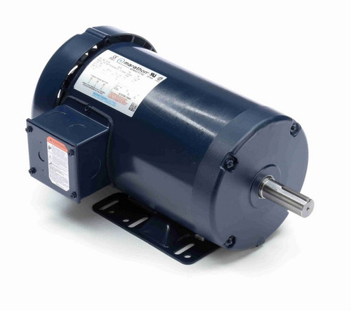 E2132 Marathon 2 hp 575V 1800 RPM 3-Phase 145T Frame TEFC (rigid base) Motor