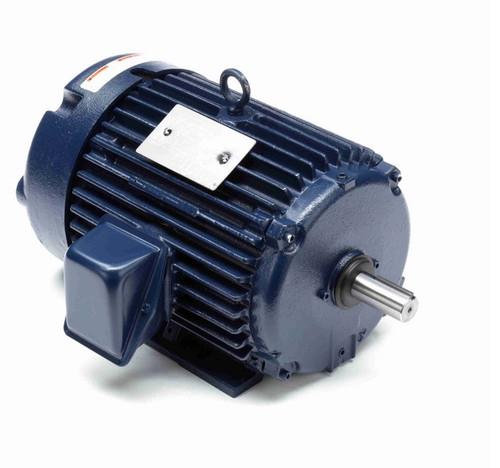 E202-P Marathon 5 hp 230/460V 1800 RPM 3-Phase 184T Frame TEFC (rigid base) Motor