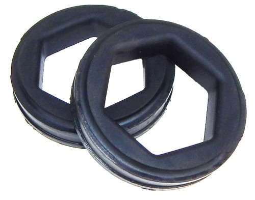 """KIT184 Fasco 2-1/2"""" Resilient Mounting Rings, With Steel Band"""
