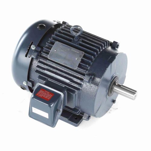 TE142 Century 10 hp 1800 RPM 200V 3-Phase 215T Frame TEFC (rigid base) Motor