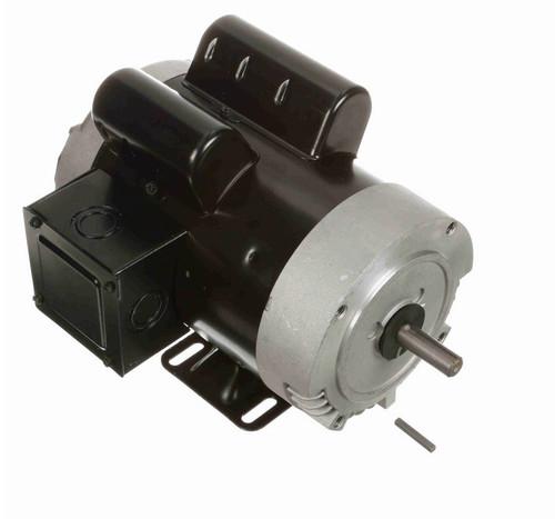 B753ES Century 1 1/2 hp 3600 RPM 56C Frame ODP (rigid base) 115/230V Motor