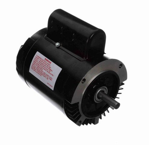 K1034LV1 Century 1/3 hp 1800 RPM 56C Frame ODP (no base) 115/230V Motor