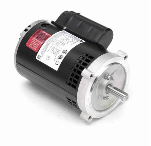 C315ES Century 1/2 hp 1800 RPM 56C Frame ODP (no base) 115/230V Motor
