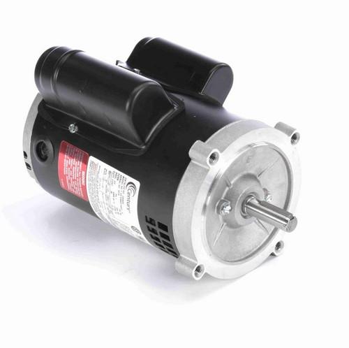 C635ES Century 1/2 hp 1800 RPM 56C Frame ODP (no base) 115/230V Motor