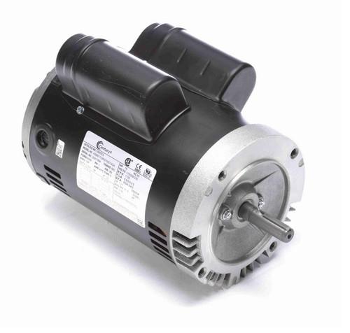 C665ES Century 3/4 hp 1800 RPM 56C Frame ODP (no base) 115/208-230V Motor