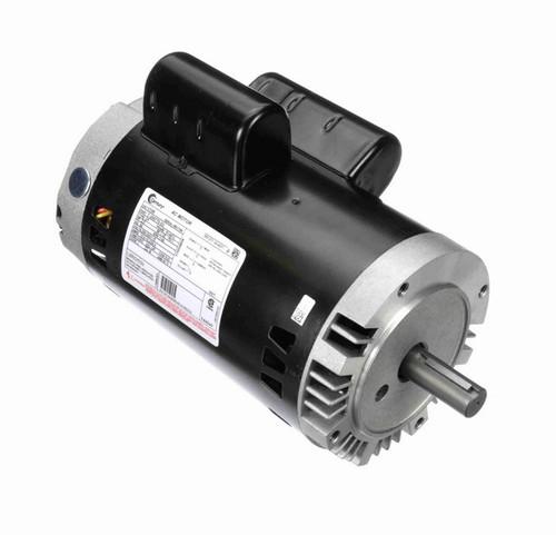 V108 Century 2 hp 1800 RPM 145TC Frame ODP (no base) 115/208-230V Motor