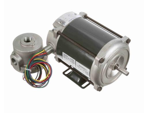 H454 Marathon 1/12 hp 1800 RPM Explosion Proof 48 Frame EPNV (rigid base) 115V Motor