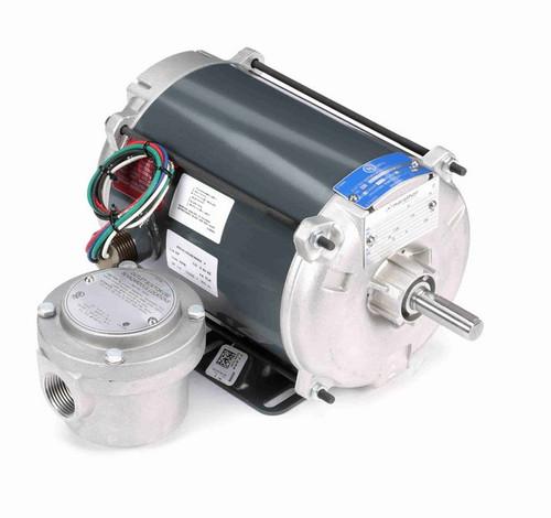 H891 Marathon 1/6 hp 1200 RPM 115V Explosion Proof 56 Frame EPNV (rigid base) Motor