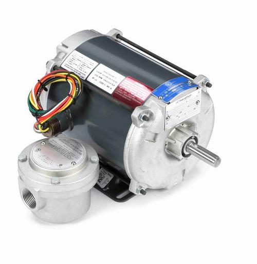 G639 Marathon 1/4 hp 1800 RPM 115/208-230V Explosion Proof 56 Frame EPNV (rigid base) Motor