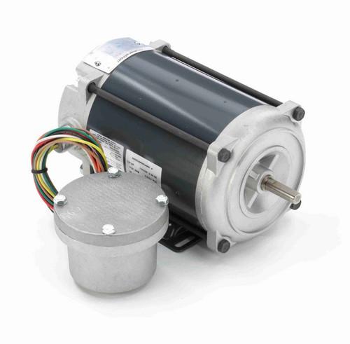 C646 Marathon 1/4 hp 1800 RPM 115/230V Explosion Proof 48 Frame EPNV (rigid base) Motor