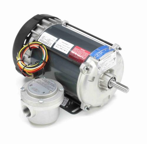 G650 Marathon 1/4 hp 1200 RPM 115/208-230V Explosion Proof 56 Frame EPFC (rigid base) Motor