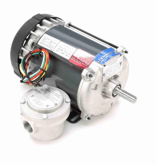 G653 Marathon 1/2 hp 3600 RPM 115/208-230V Explosion Proof 56 Frame EPFC (rigid base) Motor