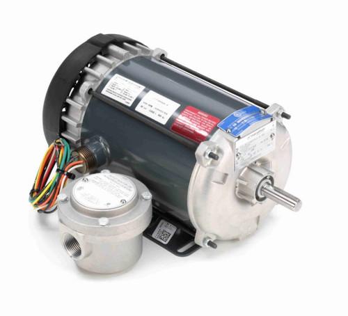 G659A Marathon 1 hp 1800 RPM 115/208-230V Explosion Proof 56H Frame EPFC (rigid base) Motor