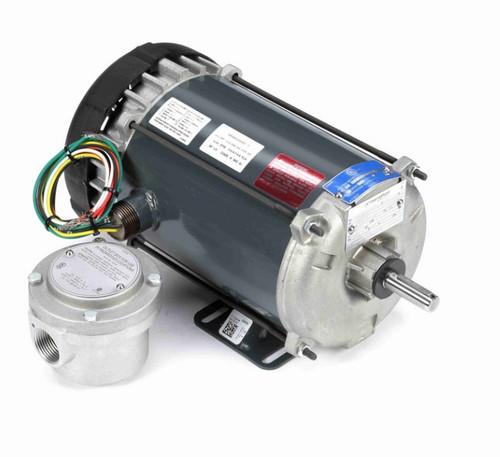 G691 Marathon 1 1/2 hp 1800 RPM 208-230V Explosion Proof 56H Frame EPFC (rigid base) Motor