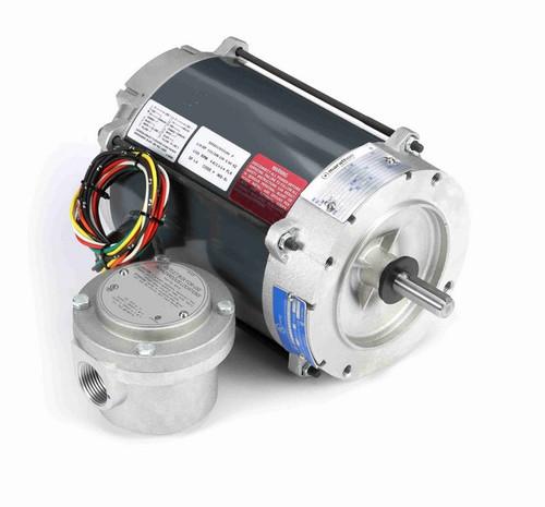G852 Marathon 1/4 hp 1800 RPM 115/208-230V Explosion Proof 56C Frame EPNV (no base) Motor