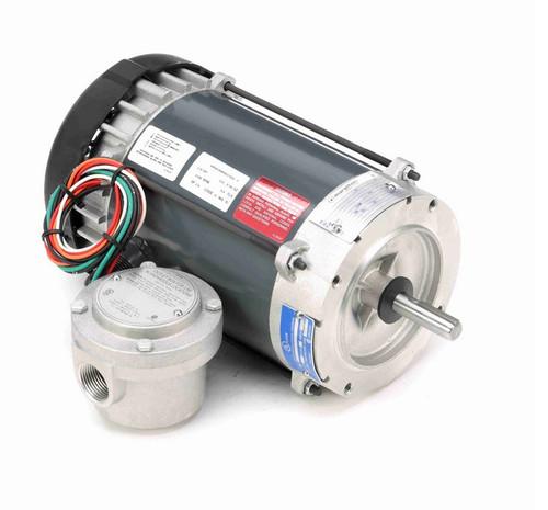 C1818 Marathon 1/4 hp 1200 RPM 115V Explosion Proof 56CZ Frame EPFC (no base) Motor