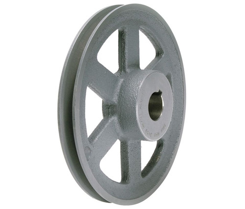 "AL64X5/8 Pulley | 5.93"" X 5/8"" Single Groove HVAC Pulley"