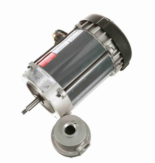 C1814 Marathon 1/2 hp 3600 RPM 115/208-230V Explosion Proof 56J Frame EPFC (no base) Motor