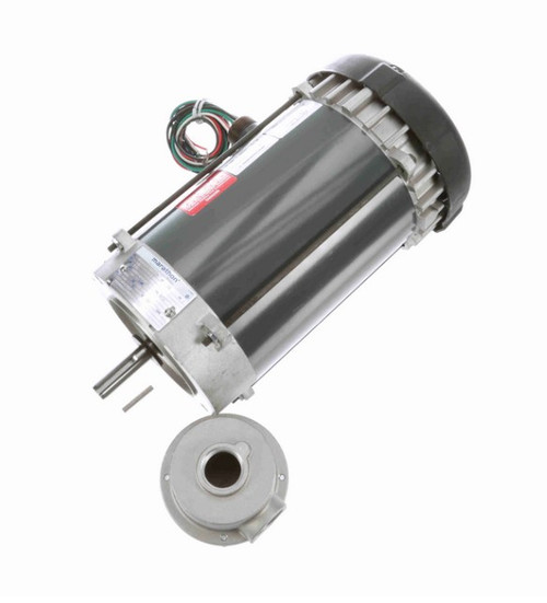 C1817 Marathon 1/2 hp 1200 RPM 115V Explosion Proof 56CZ Frame EPFC (no base) Motor