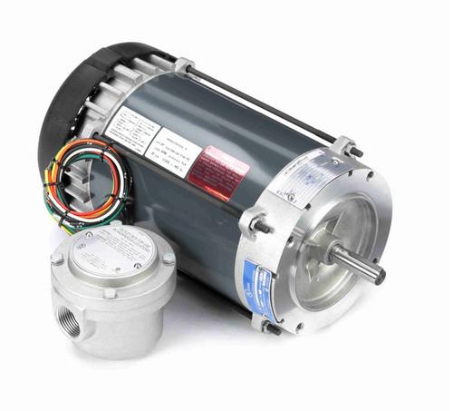 G857 Marathon 3/4 hp 1800 RPM 115/208-230V Explosion Proof 56C Frame EPFC (no base) Motor