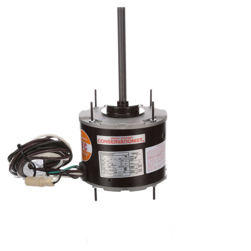 FSE1008SF Century 1/8 hp 825 RPM, 1-Speed, 208-230V, 70°C Condenser Motor