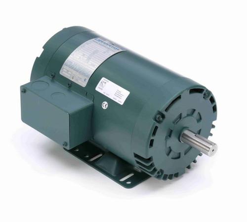 U760 Marathon 2 hp 1800 RPM 230/460V 3-Phase 145T Frame ODP (rigid base) Motor