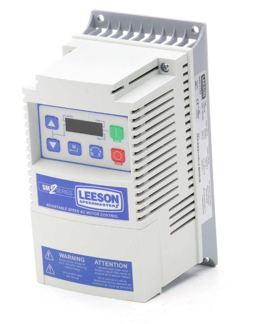 174624.00 Leeson SM2 AC Adjustable Speed VFD Drive 3HP 400-480V