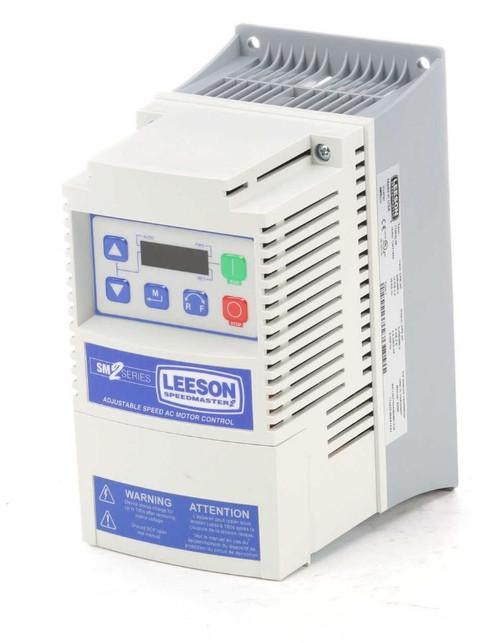 174625.00 Leeson SM2 AC Adjustable Speed VFD Drive 5HP 400-480V