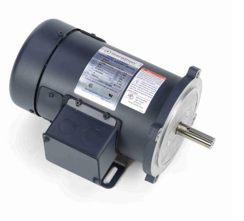 Z602 Marathon 1/4 hp 90 V DC SCR 1750 RPM Perm. Magnet C-Face 56C Frame TEFC (rigid base)