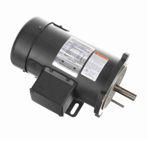 Z603 Marathon 1/4 hp 180 V DC SCR 1750 RPM Perm. Magnet C-Face 56C Frame TEFC (rigid base)