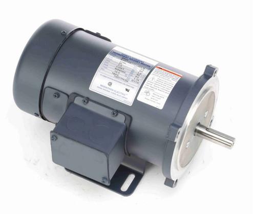 Z604 Marathon 1/3 hp 90 V DC SCR 1750 RPM Perm. Magnet C-Face 56C Frame TEFC (rigid base)