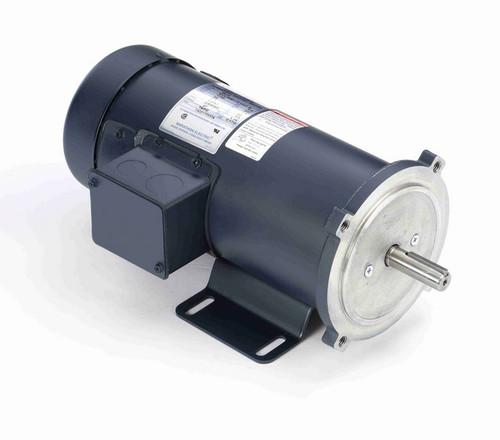Z610 Marathon 3/4 hp 90 V DC SCR 1750 RPM Perm. Magnet C-Face 56C Frame TEFC (rigid base)