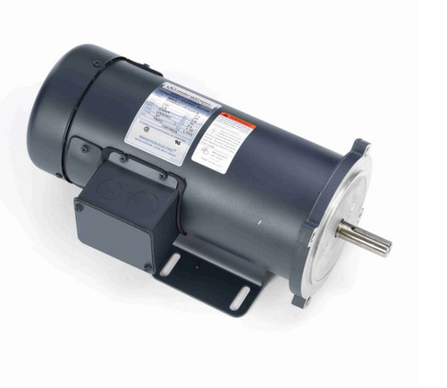 Z611 Marathon 3/4 hp 180 V DC SCR 1750 RPM Perm. Magnet C-Face 56C Frame TEFC (rigid base)