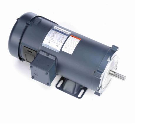 Z612 Marathon 1 hp 90 V DC SCR 1750 RPM Perm. Magnet C-Face 56C Frame TEFC (rigid base)