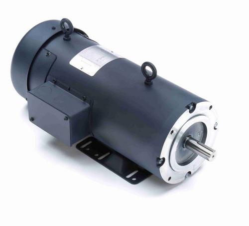 Z615 Marathon 1 1/2 hp 180 V DC SCR 1750 RPM Perm. Magnet C-Face 145TC Frame TEFC (rigid base)