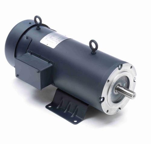 Z617 Marathon 2 hp 180 V DC SCR 1750 RPM Perm. Magnet C-Face 182TC Frame TEFC (rigid base)