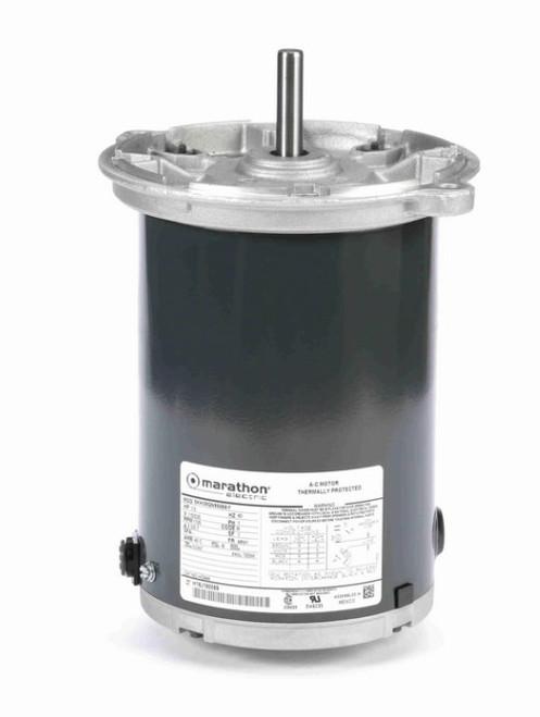 HG646 Marathon 1/3 hp 1800 RPM 115/230V TENV 48NY Frame Auger Motor
