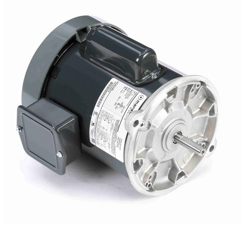 C1291 Marathon 1/3 hp 1800 RPM 115/208-230V TEFC 56NY Frame Auger Motor
