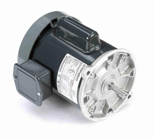 C1292 Marathon 1/2 hp 1800/1500 RPM 115/208-230V TEFC 56NY Frame Auger Motor