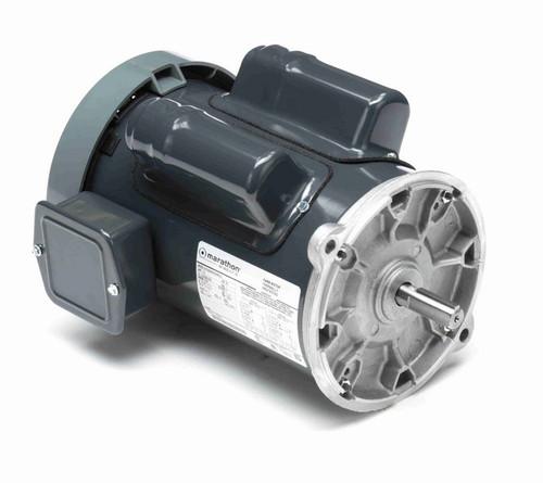 C1295 Marathon 1 1/2 hp 1800 RPM 115/208-230V TEFC 56NY Frame Auger Motor