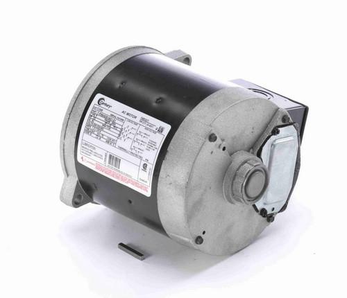 C345 Century 3-Phase 1/3 hp 1800 RPM 208-230V/460 TENV 56N Frame Auger Motor