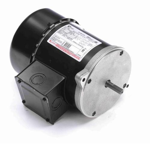 C346 Century 3-Phase 1/2 hp 1800 RPM 208-230/460V TEFC 56N Frame Auger Motor