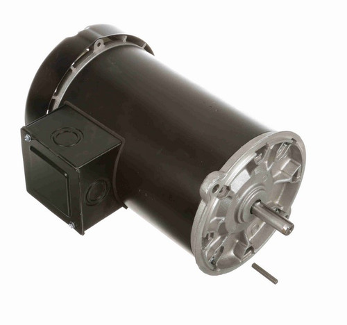C348ES Century 3-Phase 1 hp 1800 RPM 208-230/460V TEFC 56N Frame Auger Motor