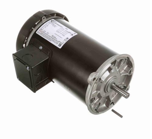 C349ES Century 3-Phase 1 1/2 hp 1800 RPM 230/460V TEFC 56N Frame Auger Motor