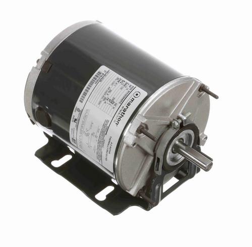 HG196 Marathon 1/6 hp 1800 RPM 115V TENV 48 Frame Split-Phase Farm Motor