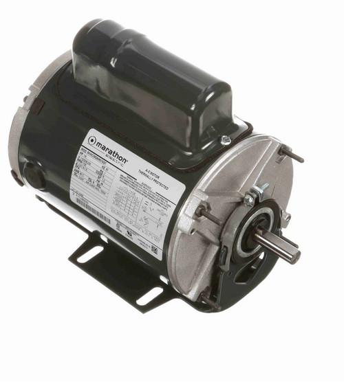 H649 Marathon 1/4 hp 1800 RPM 115/208-230V TENV 48 Frame Split-Phase Farm Motor
