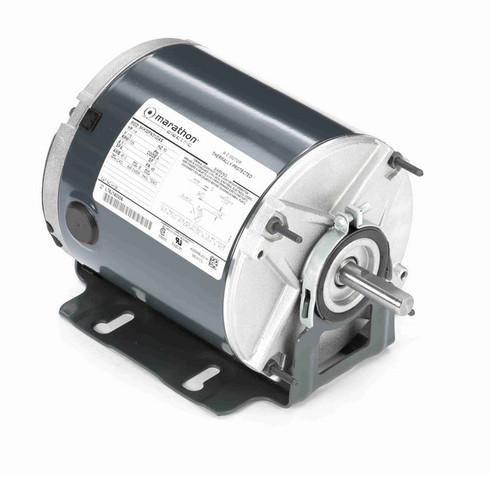H135 Marathon 1/4 hp 1800 RPM 115V TEAO 48 Frame Split-Phase Farm Motor