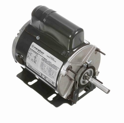 P250 Marathon 1/4 hp 1800 RPM 115/230V TENV 48Z Frame PSC Farm Motor