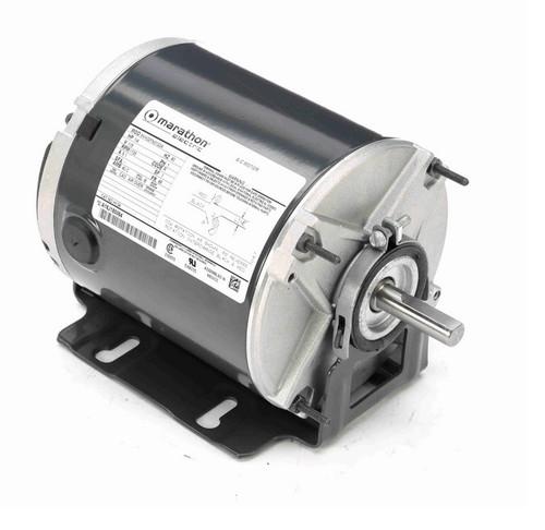 H134 Marathon 1/4 hp 1800 RPM 115V TEAO 48Y Frame Split Phase Farm Motor