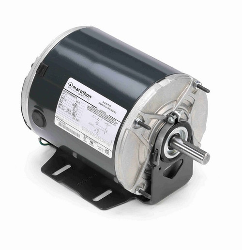 H137 Marathon 1/4 hp 1200 RPM 115V TENV 48 Frame Split-Phase Farm Motor